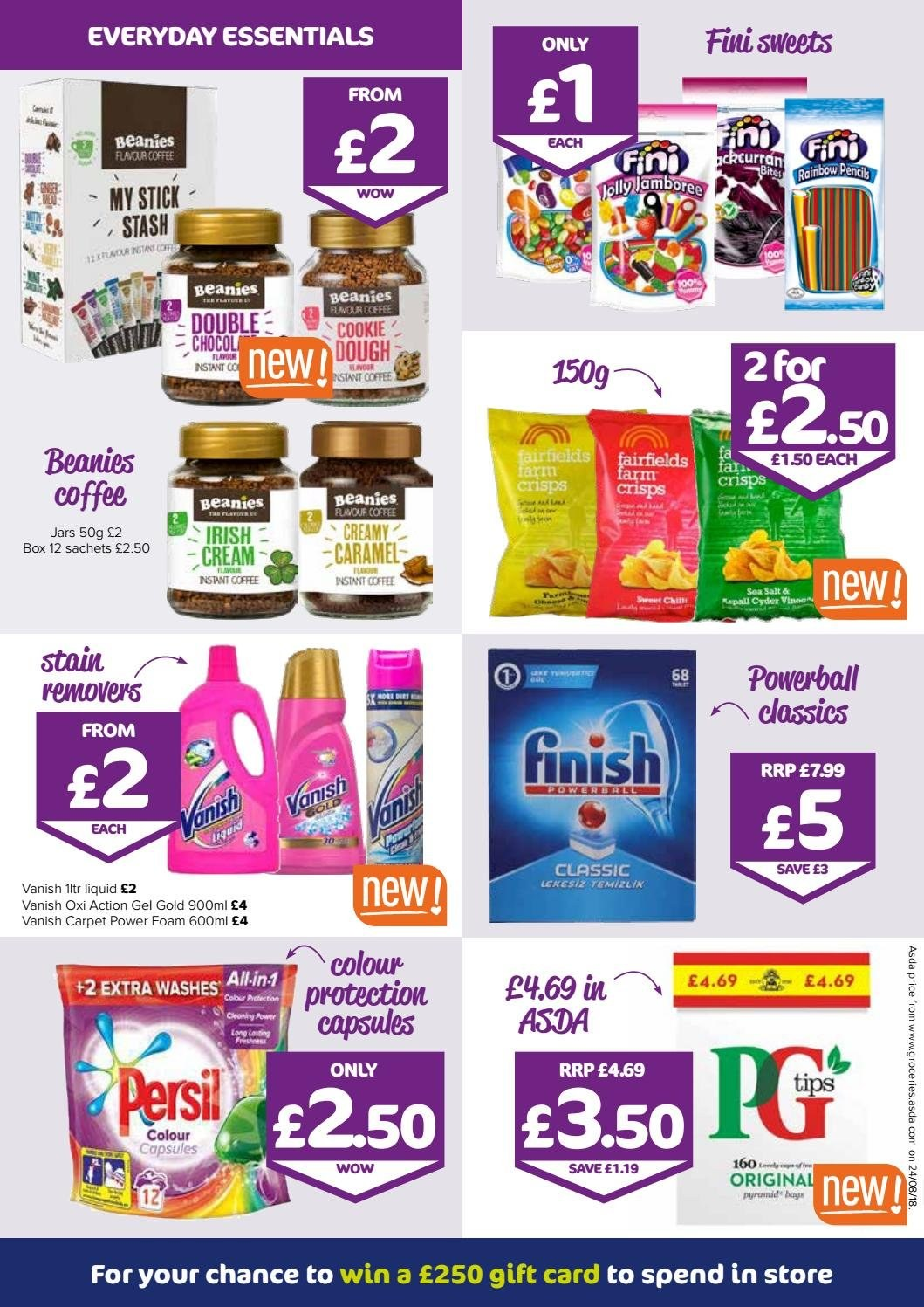 The Original Factory Shop offer  - 13.9.2018 - 26.9.2018 - Sales products - bag, beanie, box, capsules, caramel, coffee, cream, foam, stick, instant coffee, jar, carpet, gift card, salt, card. Page 2.