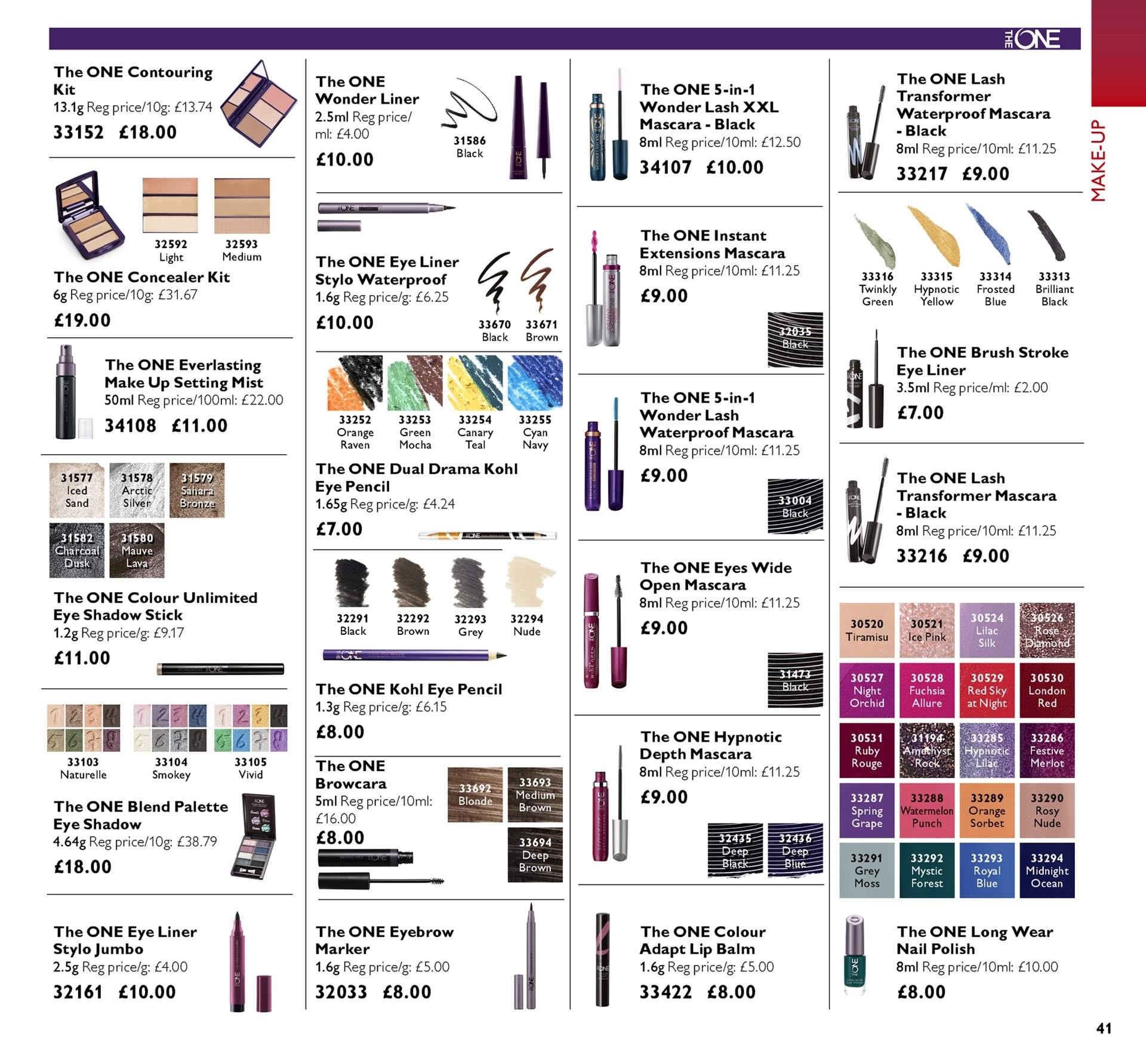Oriflame offer  - 28.9.2018 - 18.10.2018. Page 41.