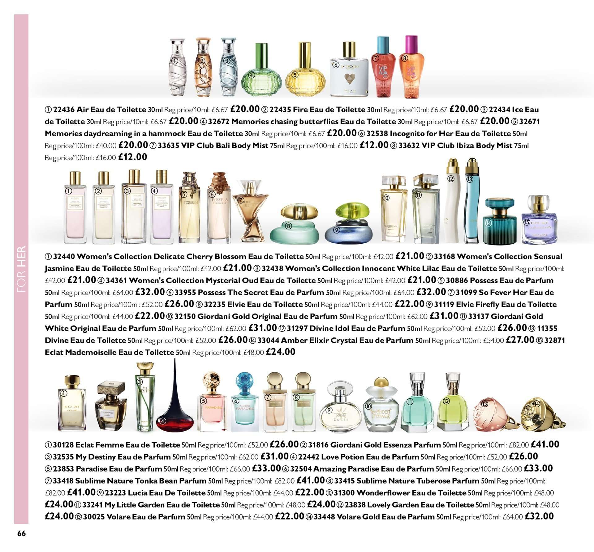 Oriflame offer  - 28.9.2018 - 18.10.2018. Page 66.