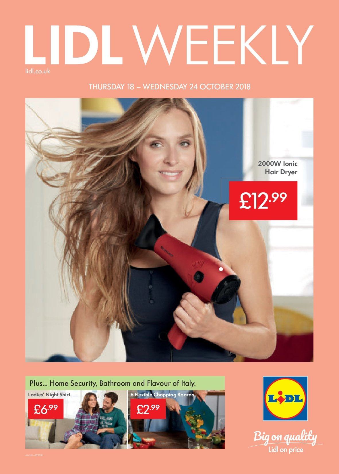 Lidl offer  - 18.10.2018 - 24.10.2018. Page 1.