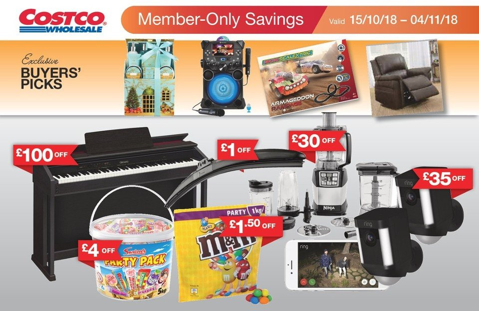 Costco offer  - 15.10.2018 - 4.11.2018. Page 1.