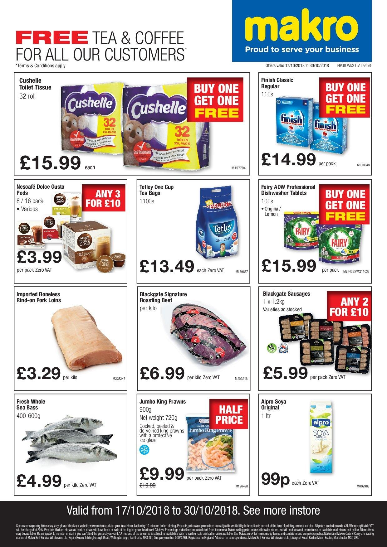 Makro offer  - 17.10.2018 - 30.10.2018. Page 1.