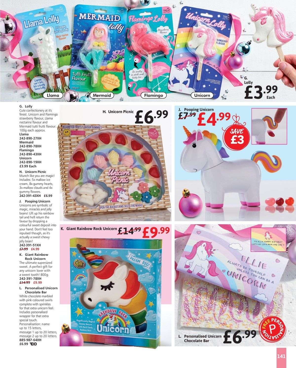 Studio offer  - 17.10.2018 - 11.12.2018 - Sales products - always, basket, beans, cream, flamingo, white chocolate, ice cream, chocolate, candy, gummy, pen, sweet, chocolate bar, strawberry. Page 139.
