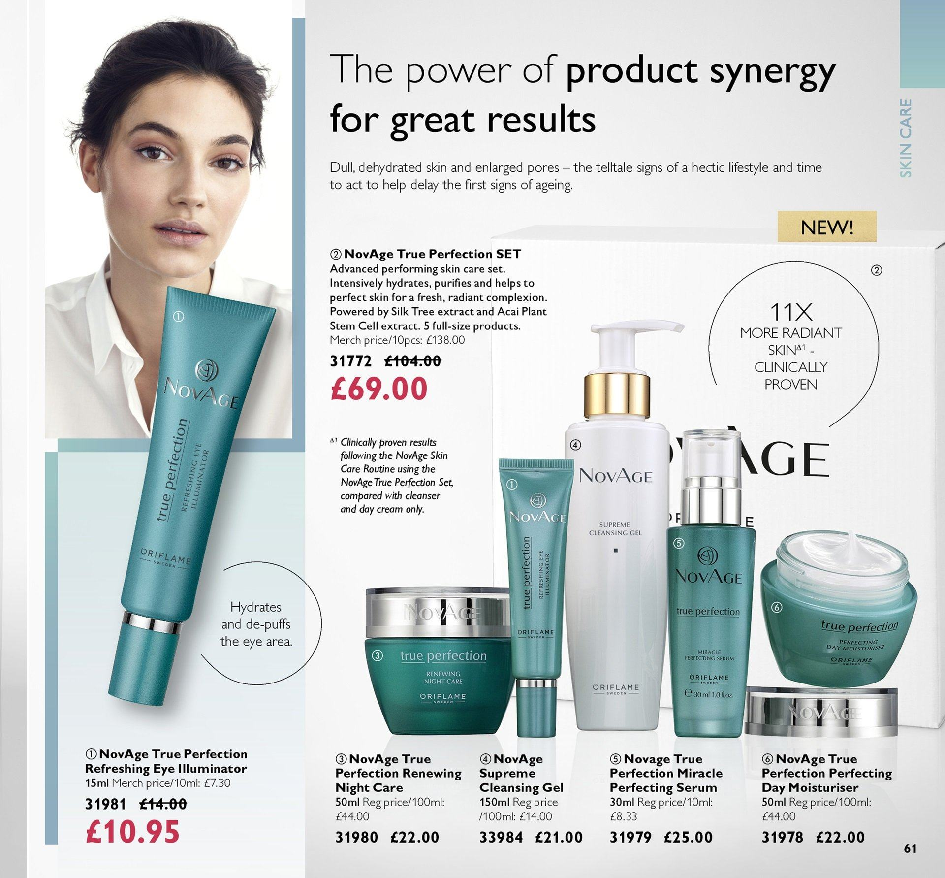 Oriflame offer  - 19.10.2018 - 8.11.2018. Page 61.