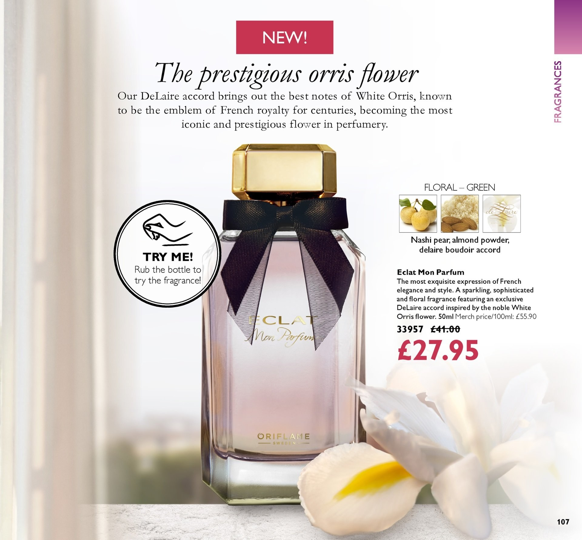 Oriflame offer  - 19.10.2018 - 8.11.2018. Page 107.