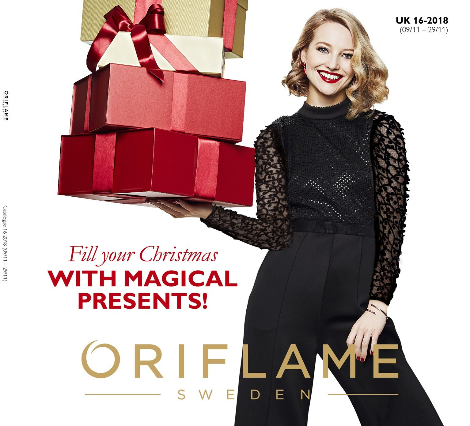 Oriflame offer  - 9.11.2018 - 29.11.2018. Page 1.