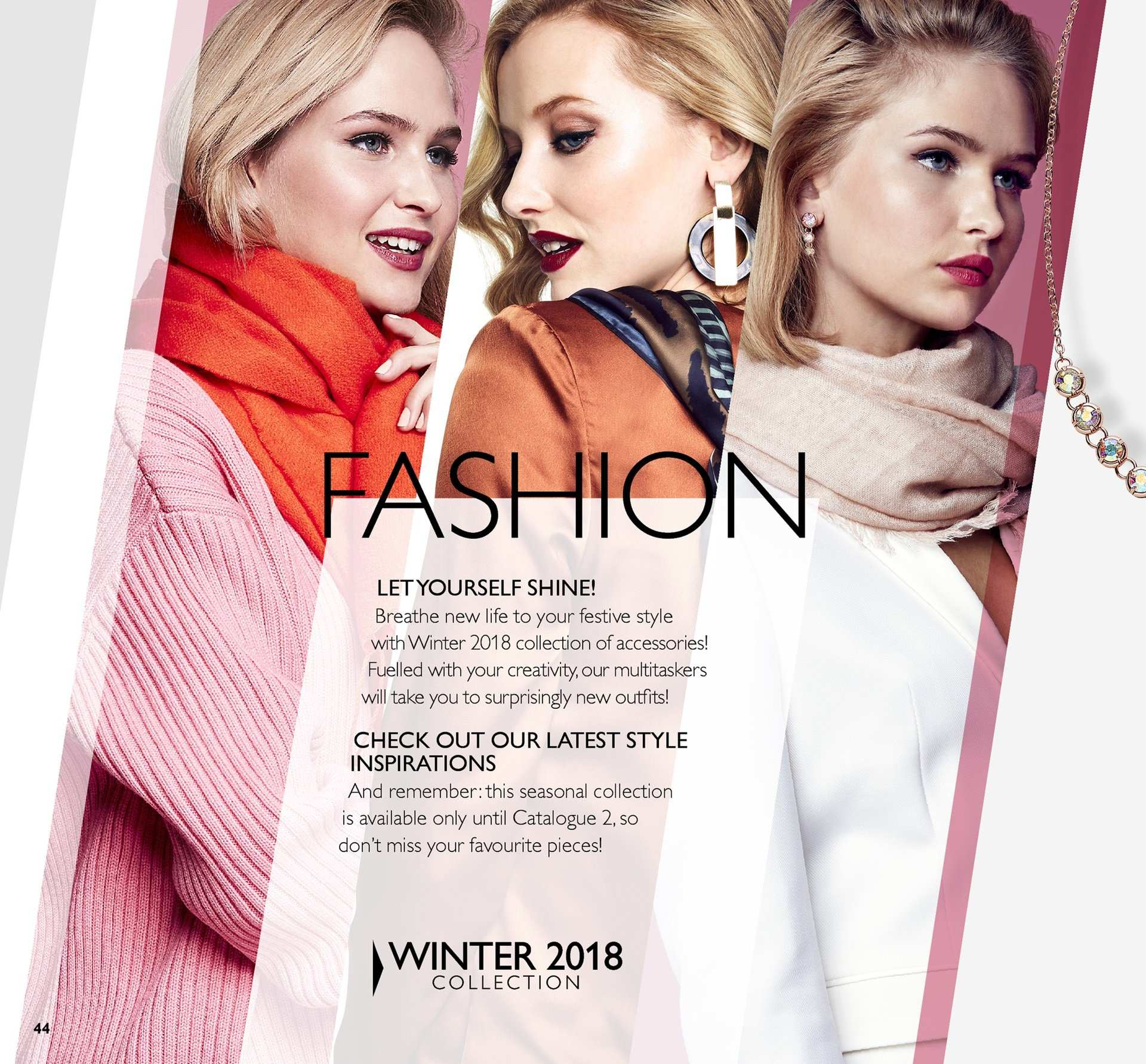 Oriflame offer  - 30.11.2018 - 20.12.2018. Page 44.