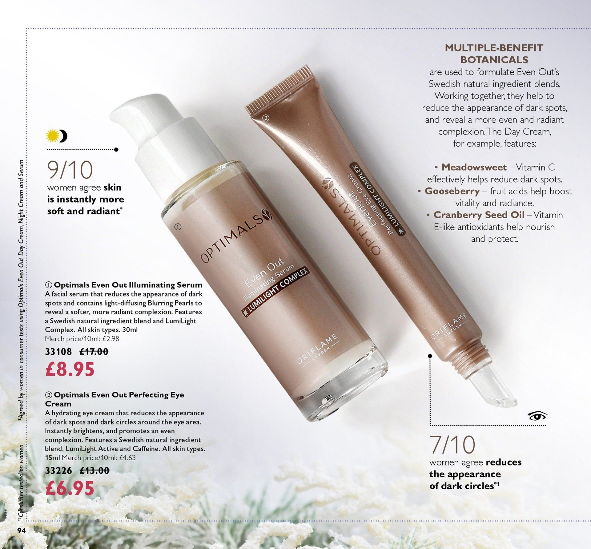 Oriflame offer  - 30.11.2018 - 20.12.2018. Page 94.