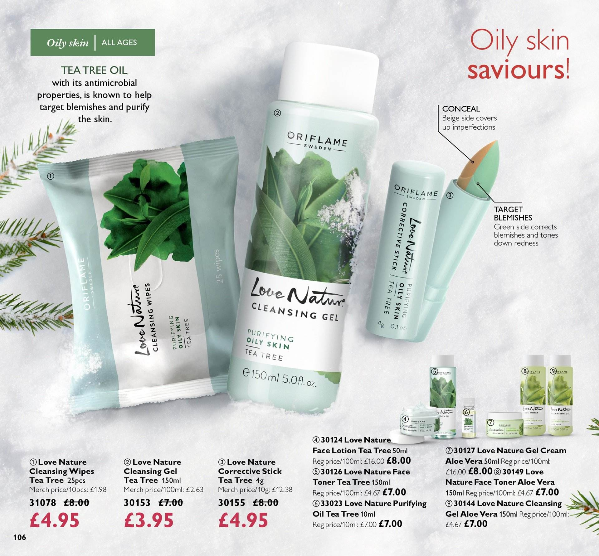 Oriflame offer  - 30.11.2018 - 20.12.2018. Page 106.