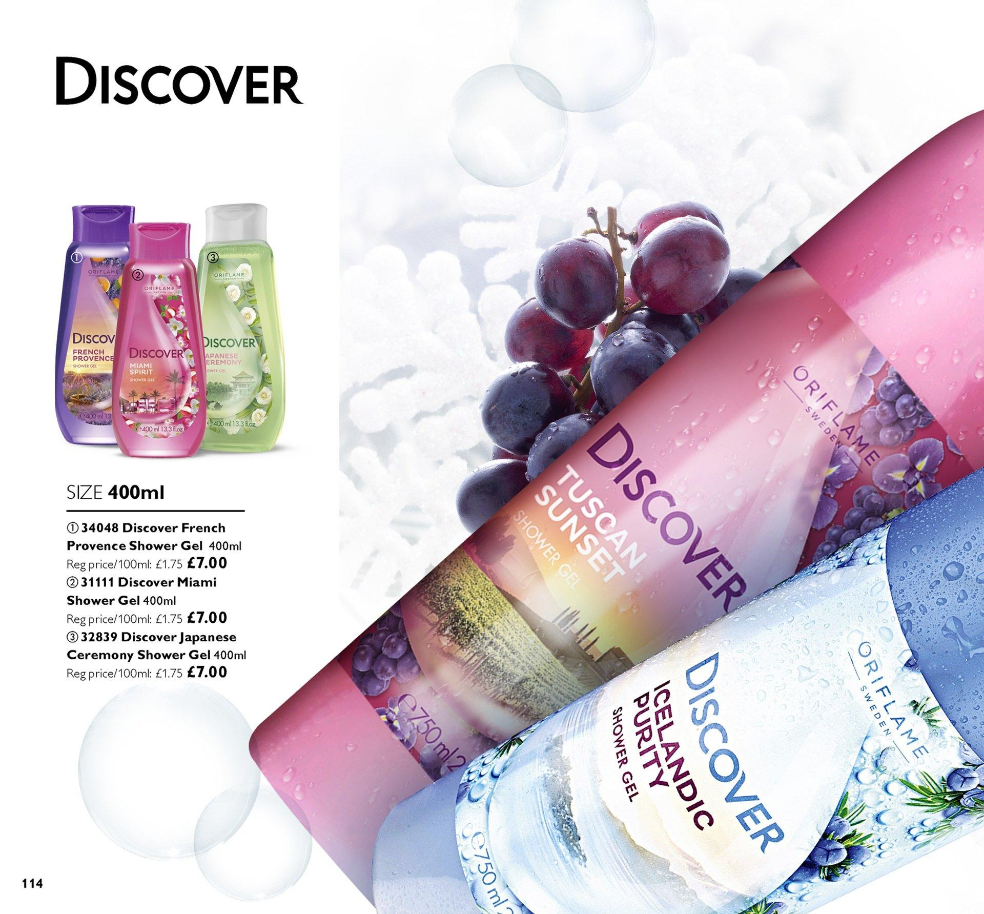 Oriflame offer  - 30.11.2018 - 20.12.2018. Page 114.