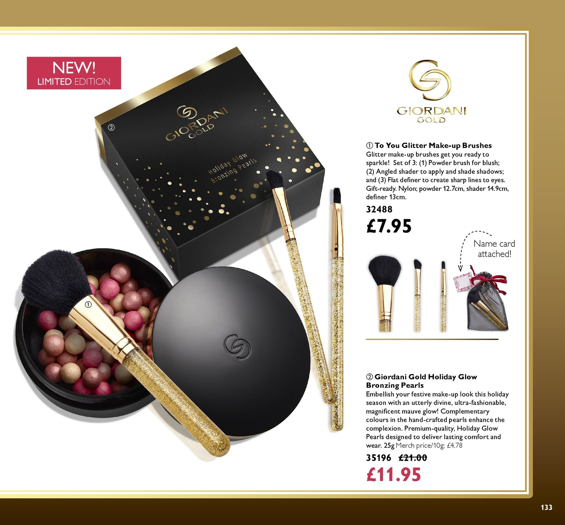 Oriflame offer  - 30.11.2018 - 20.12.2018. Page 133.