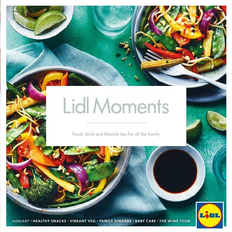 Lidl offer  - 1.1.2019 - 31.1.2019. Page 1.