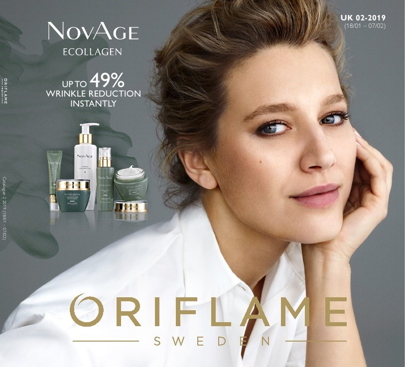Oriflame offer  - 18.1.2019 - 7.2.2019. Page 1.