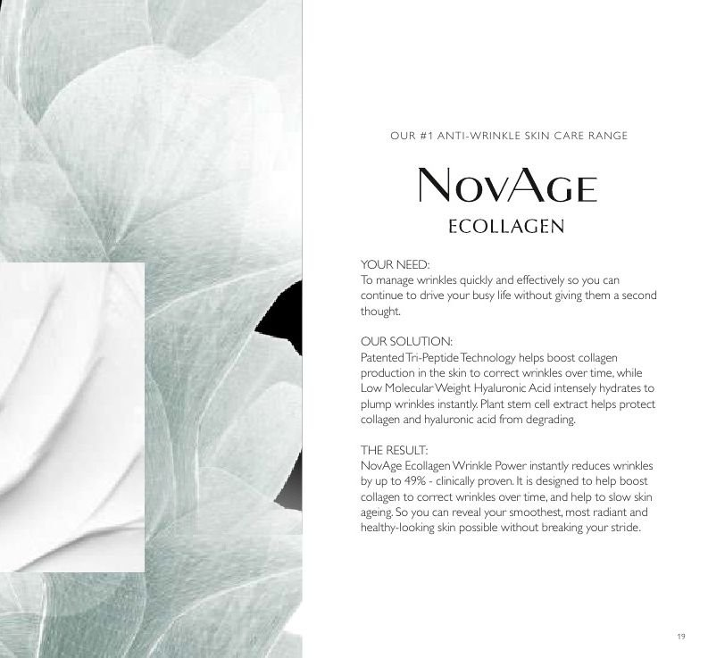 Oriflame offer  - Sales products - acid. Page 19.