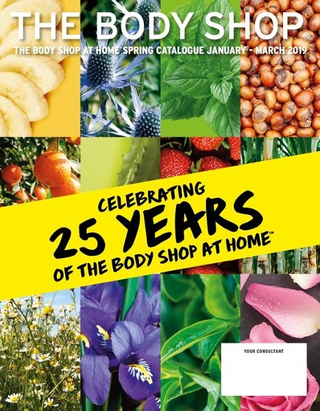 The Body Shop offer  - 1.1.2019 - 31.3.2019. Page 1.