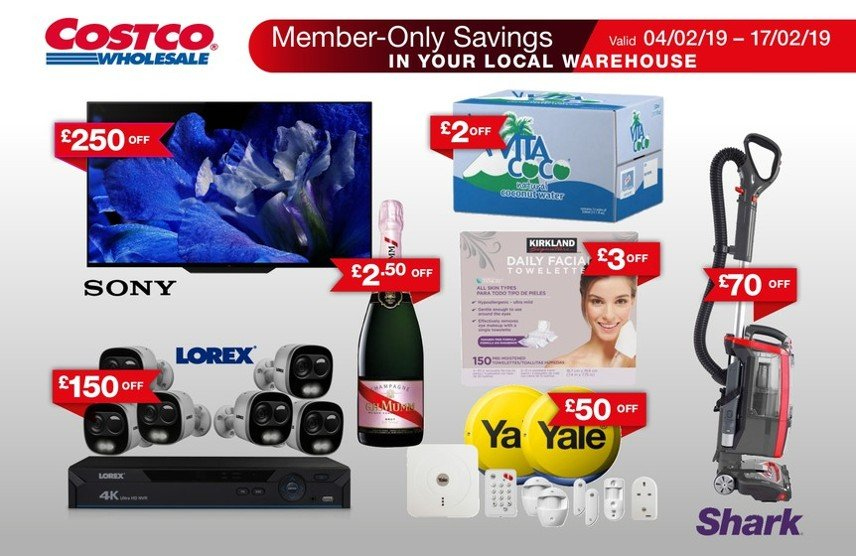 Costco offer  - 4.2.2019 - 17.2.2019. Page 1.