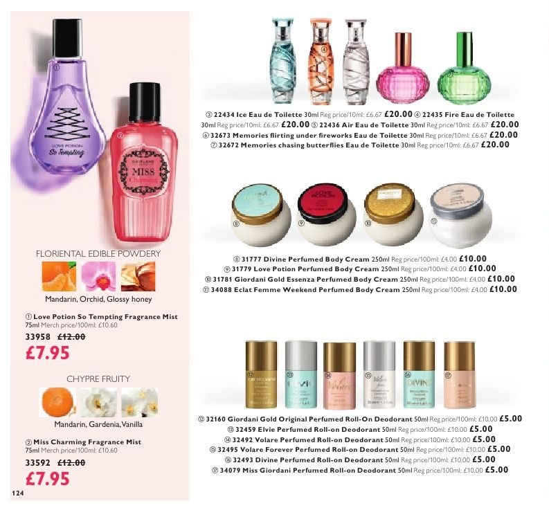 Oriflame offer  - 8.2.2019 - 28.2.2019. Page 124.