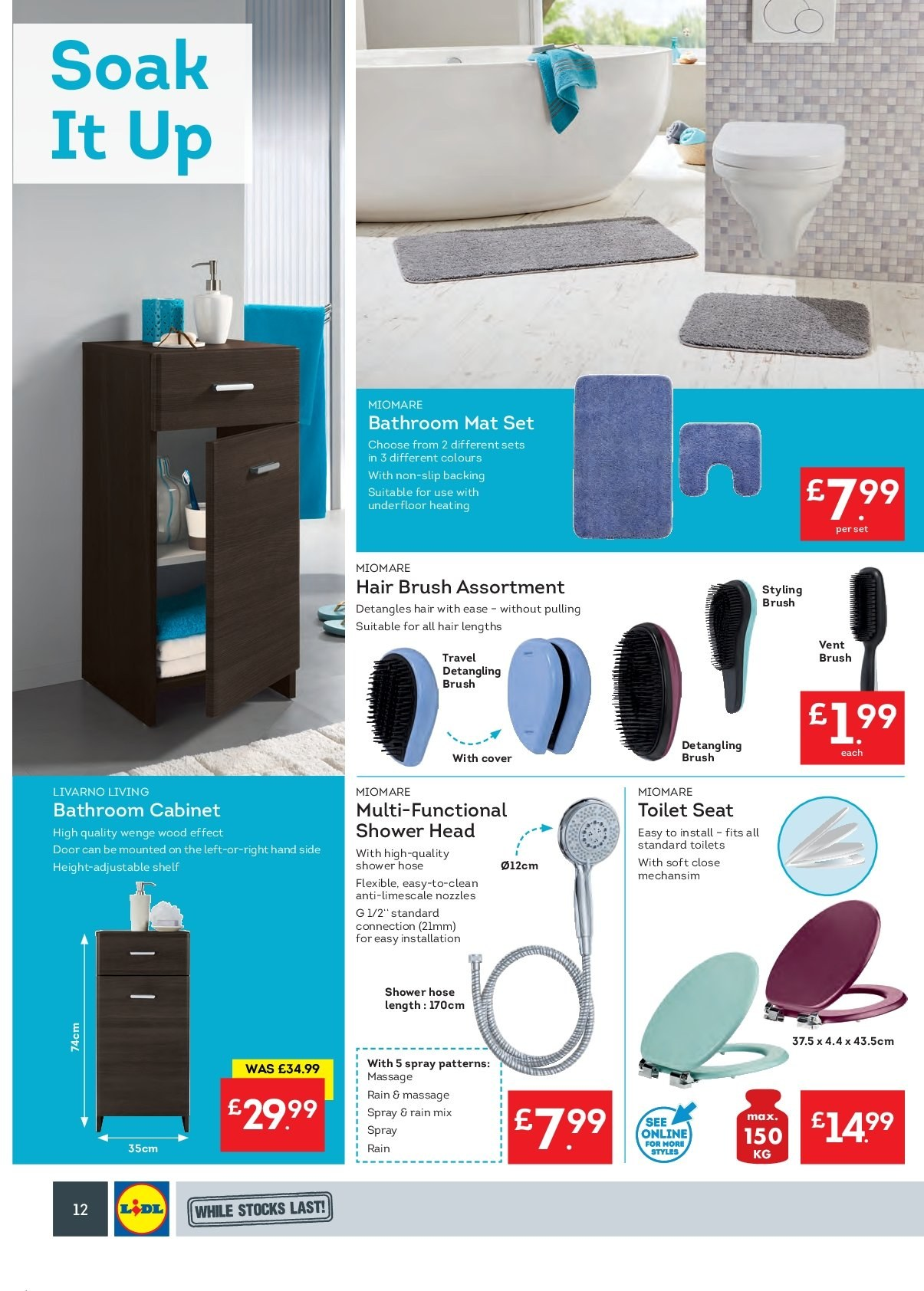 Lidl offer 18 2 2019 24 2 2019 sales products bathroom