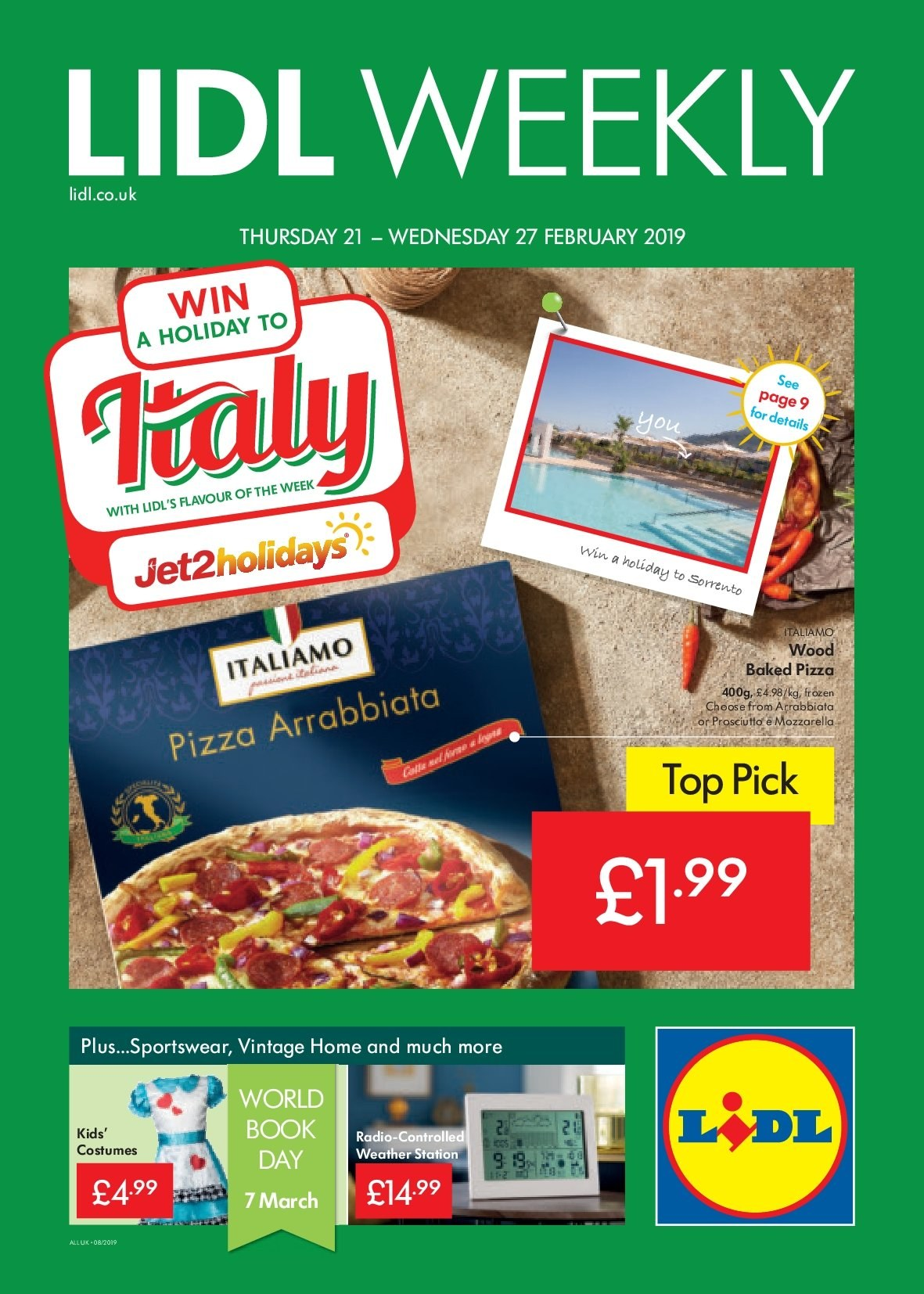 Lidl offer  - 21.2.2019 - 27.2.2019. Page 1.