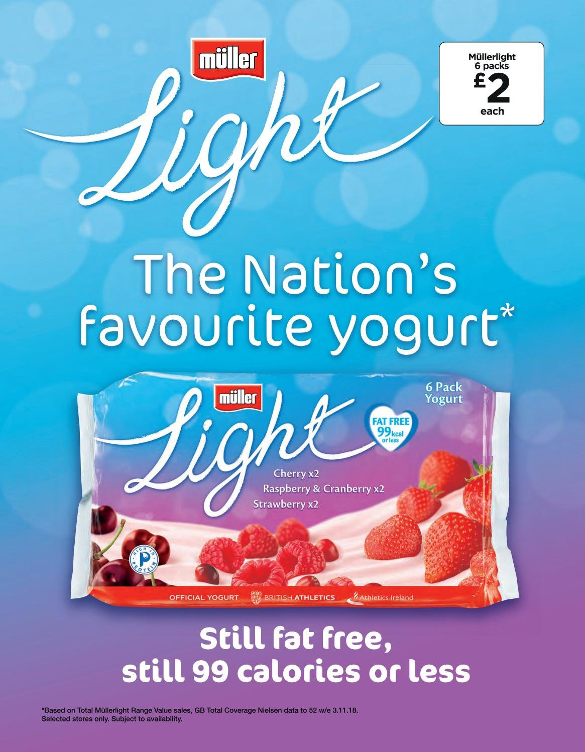 ASDA offer  - 1.2.2019 - 28.2.2019 - Sales products - yogurt, strawberry. Page 4.