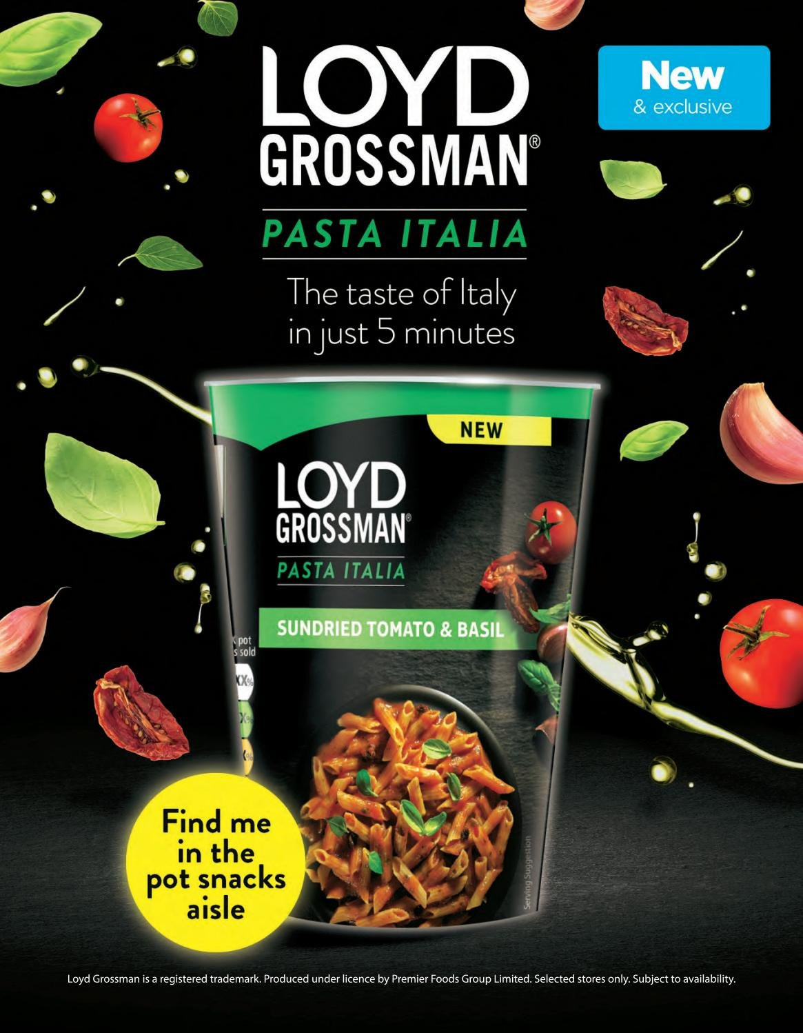 ASDA offer  - 1.2.2019 - 28.2.2019 - Sales products - basil, sun dried tomato, pot, pasta. Page 28.