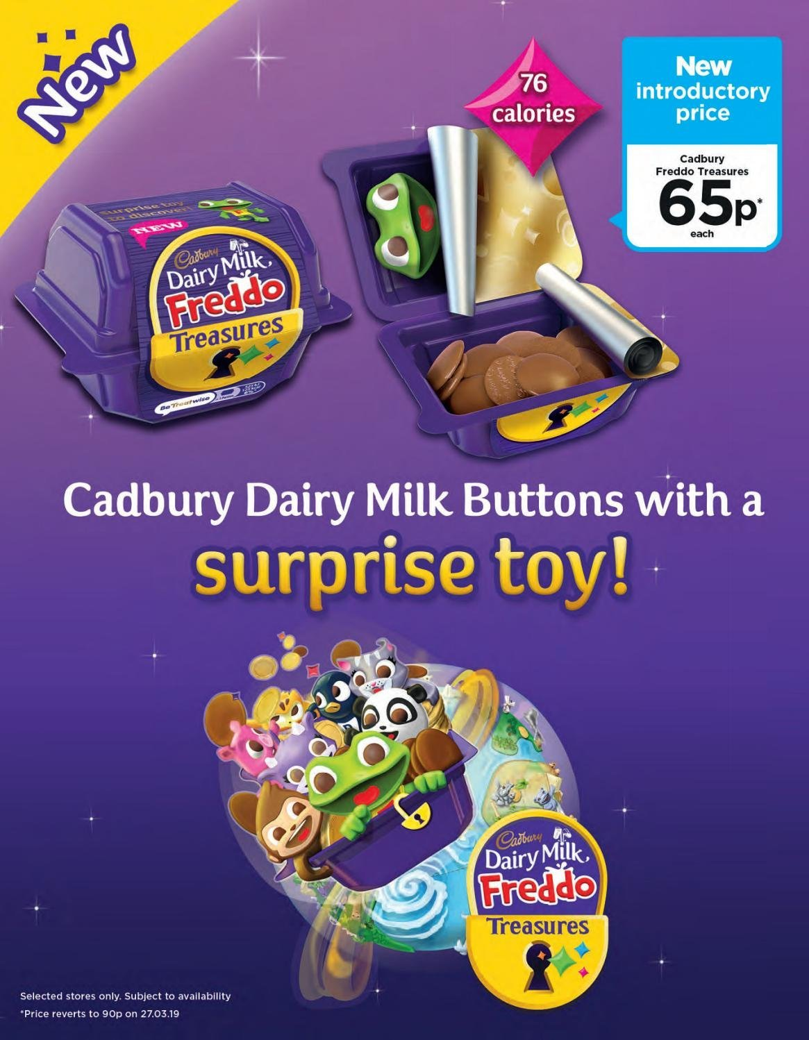 ASDA offer  - 1.2.2019 - 28.2.2019 - Sales products - milk, toys. Page 91.