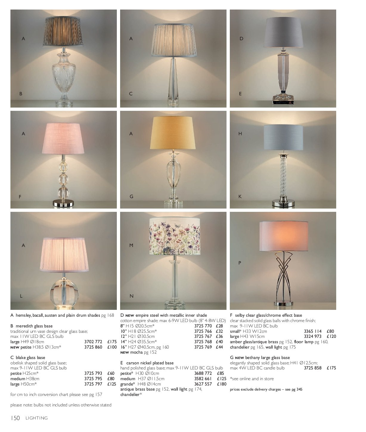 Selby Glass Ball Lamp at LAURA ASHLEY