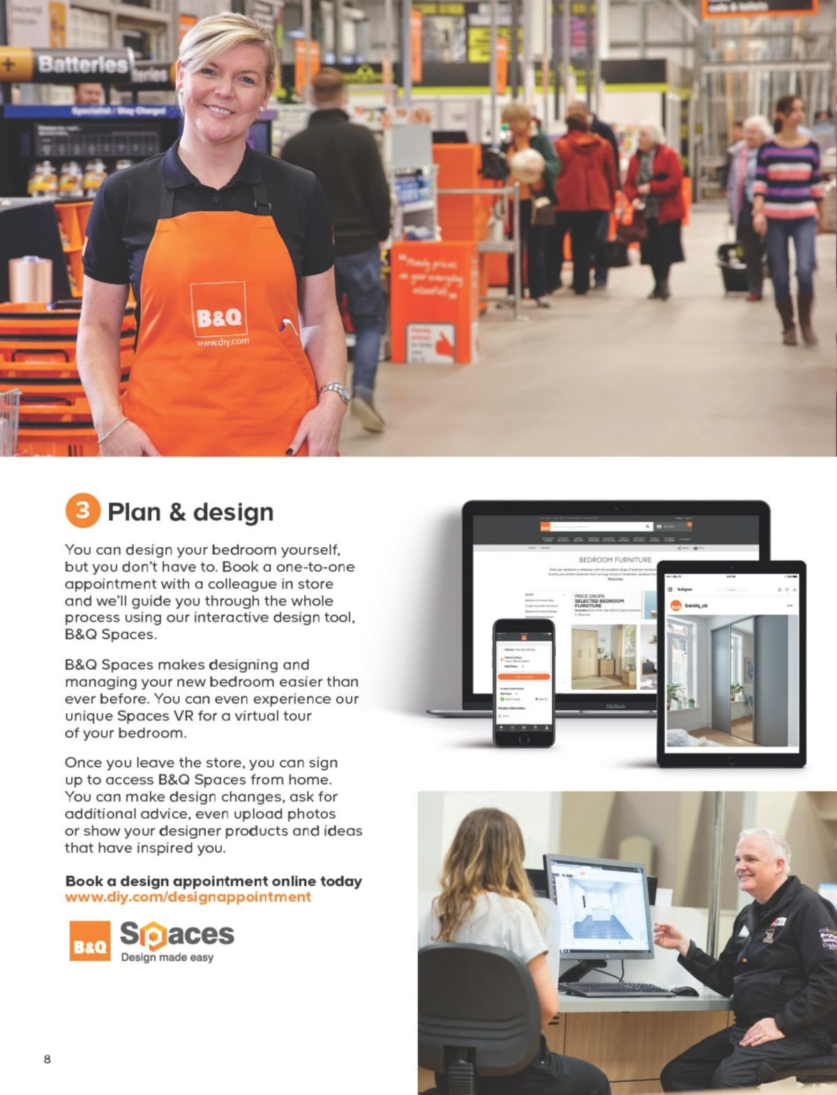 B&Q offer  - 30.11.2018 - 13.6.2019. Page 8.