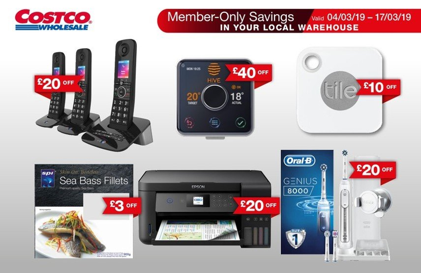 Costco offer  - 4.3.2019 - 17.3.2019. Page 1.
