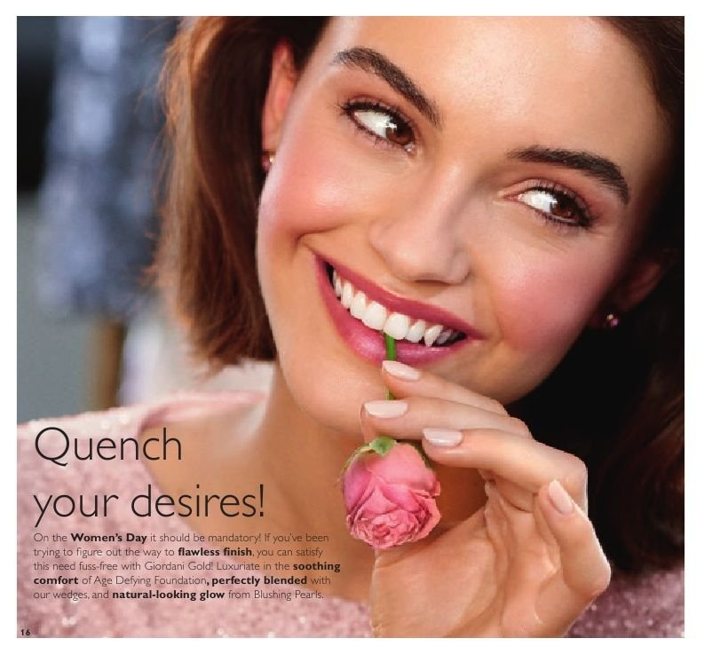 Oriflame offer  - 1.3.2019 - 21.3.2019. Page 16.