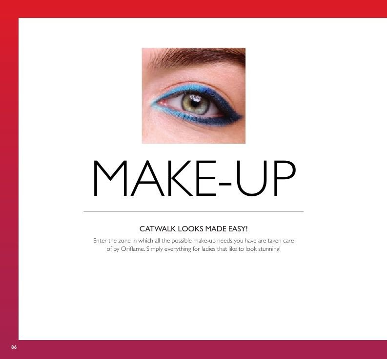 Oriflame offer  - 22.3.2019 - 11.4.2019. Page 86.