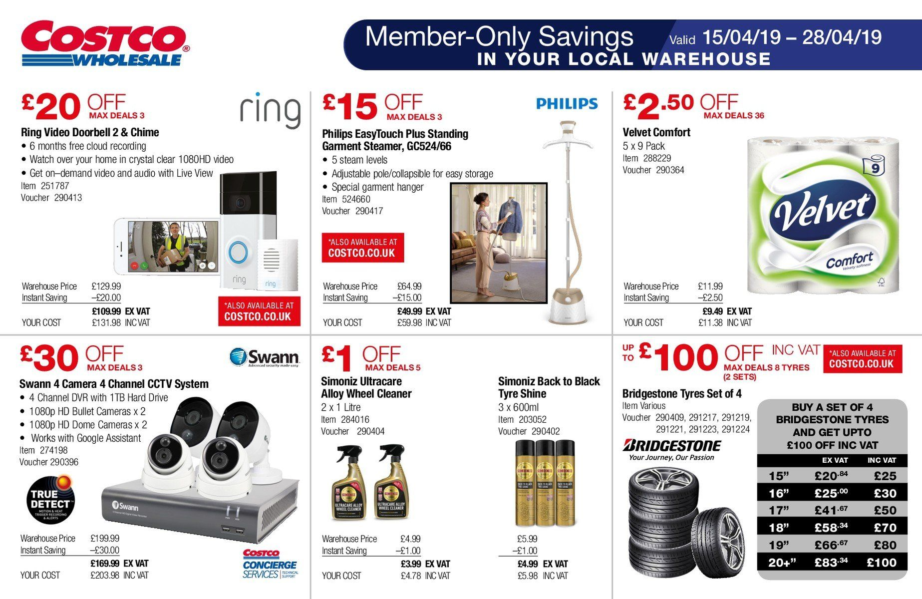 Costco offer 15 4 2019 - 28 4 2019 | My-leaflet co uk