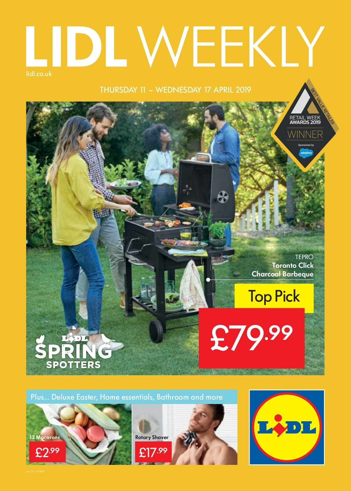 Lidl offer  - 11.4.2019 - 17.4.2019. Page 1.