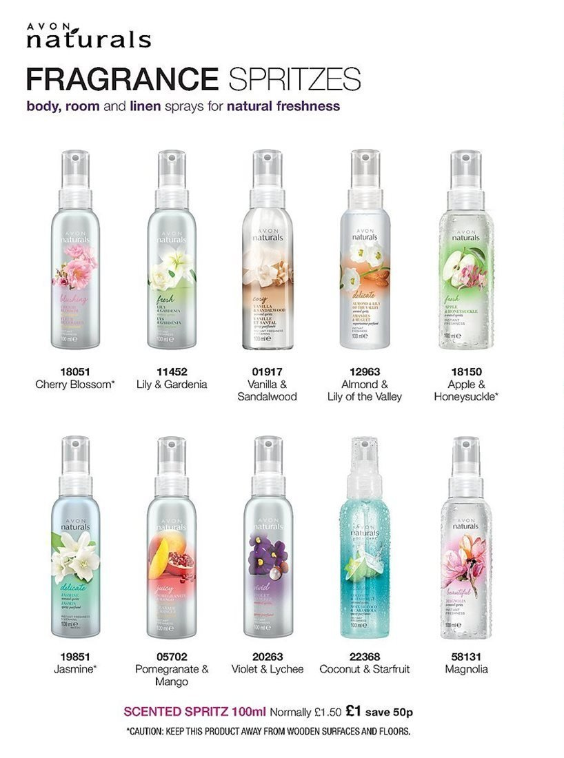 Avon offer  - 4.4.2019 - 24.4.2019 - Sales products - apple, fragrance, lychee, mango, coconut. Page 224.