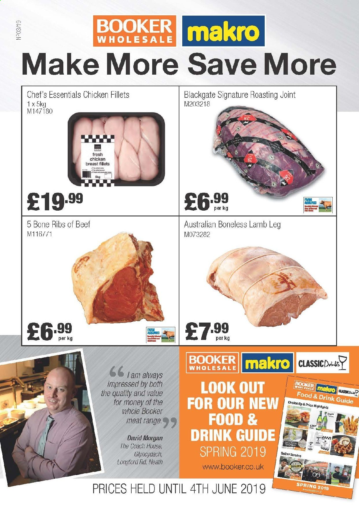 Makro offer  - 8.5.2019 - 4.6.2019. Page 1.