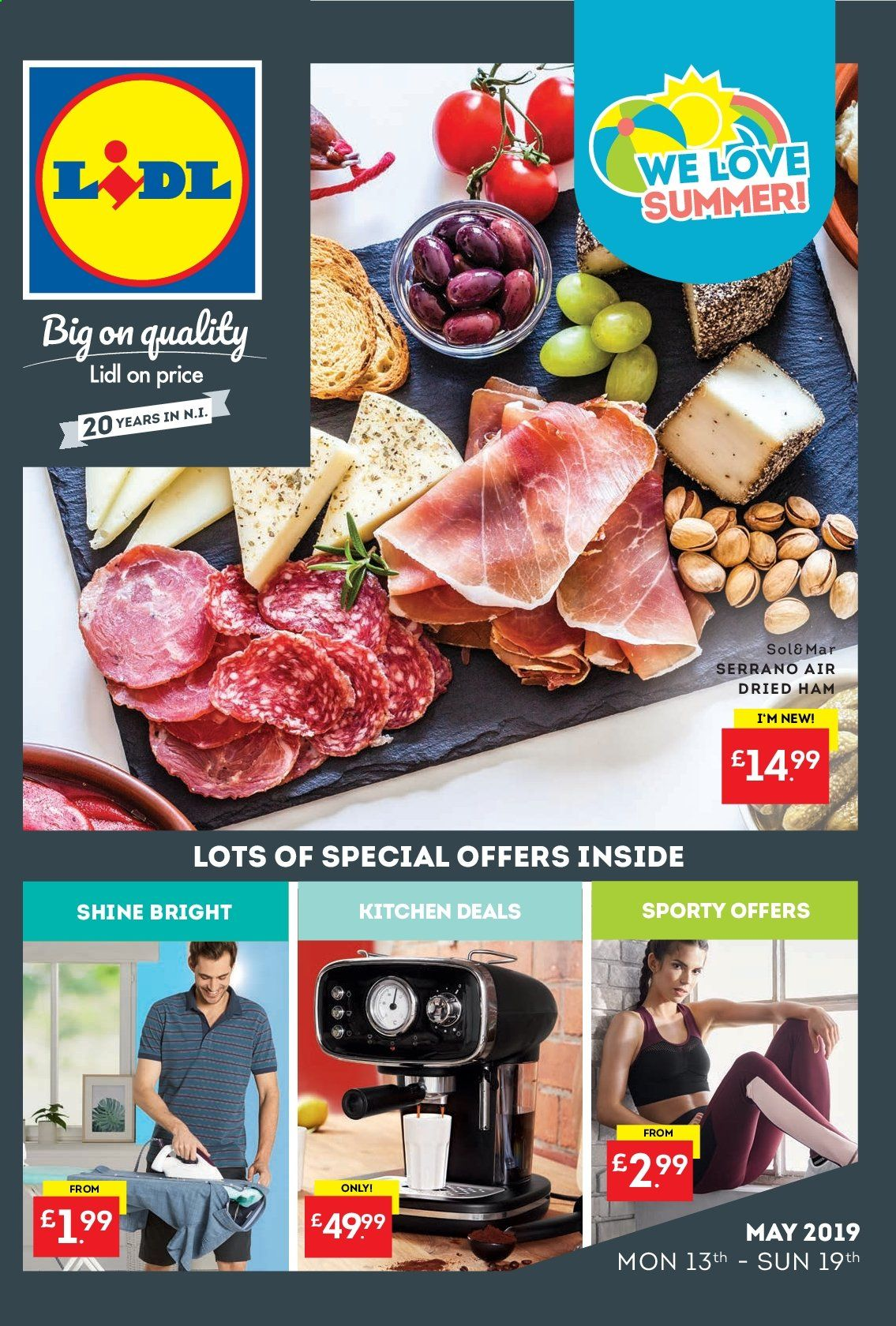 Lidl offer  - 13.5.2019 - 19.5.2019. Page 1.