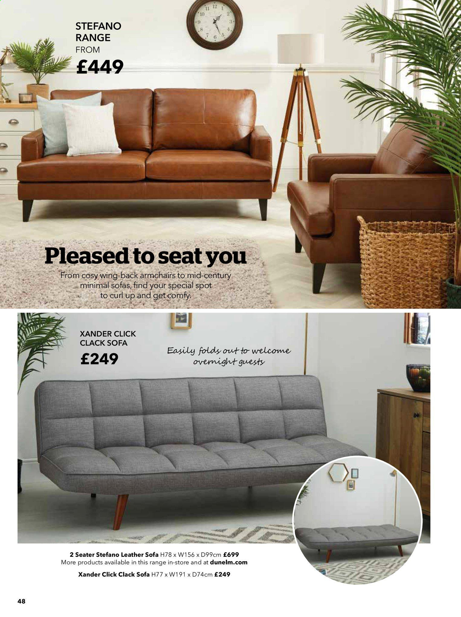 Dunelm offer . Page 48.