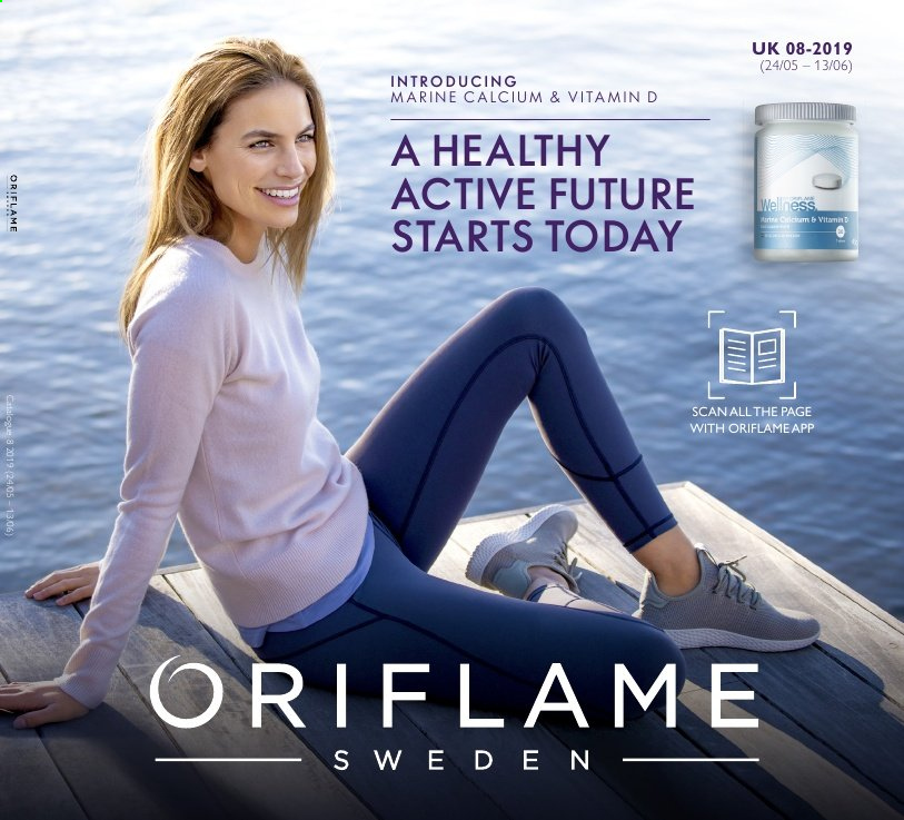 Oriflame offer  - 24.5.2019 - 13.6.2019. Page 1.