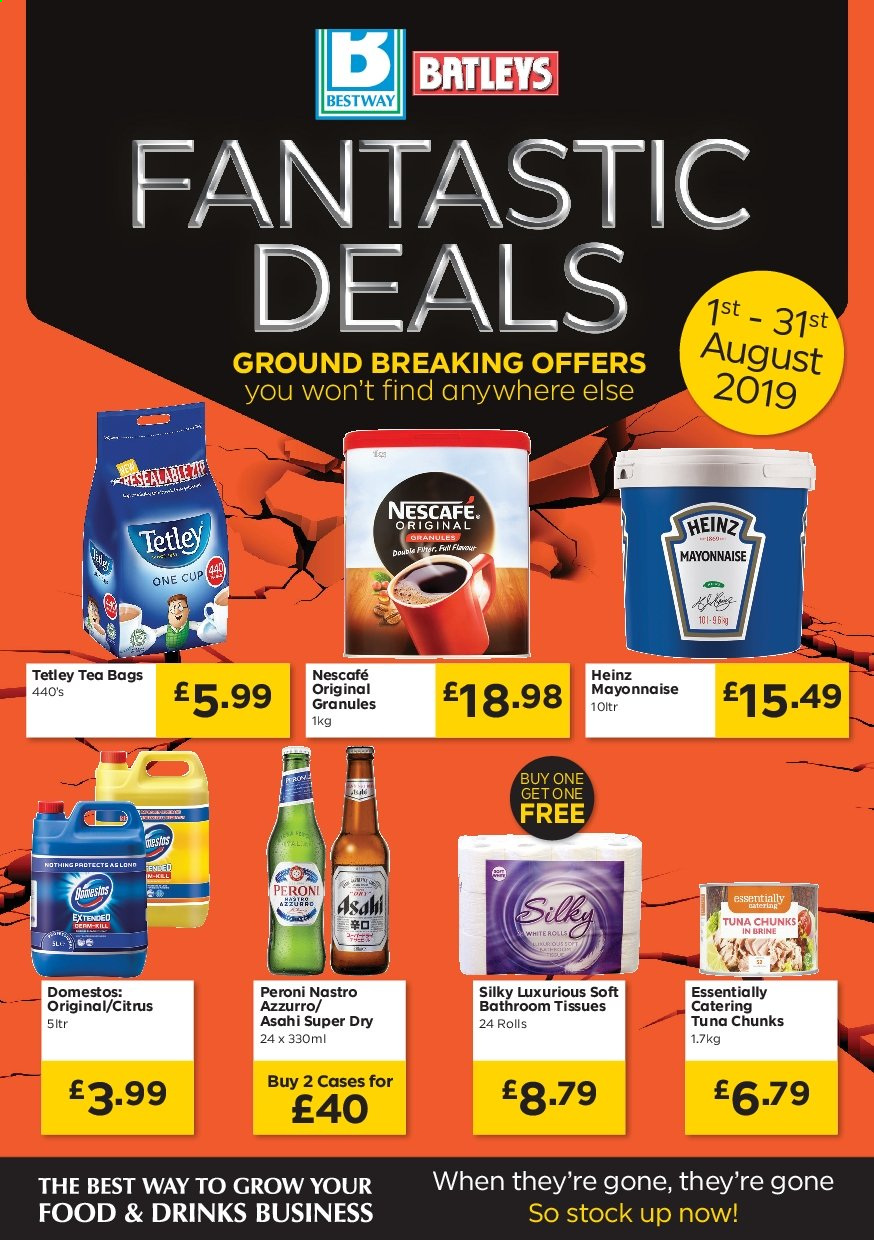 Bestway offer  - 1.8.2019 - 31.8.2019. Page 1.