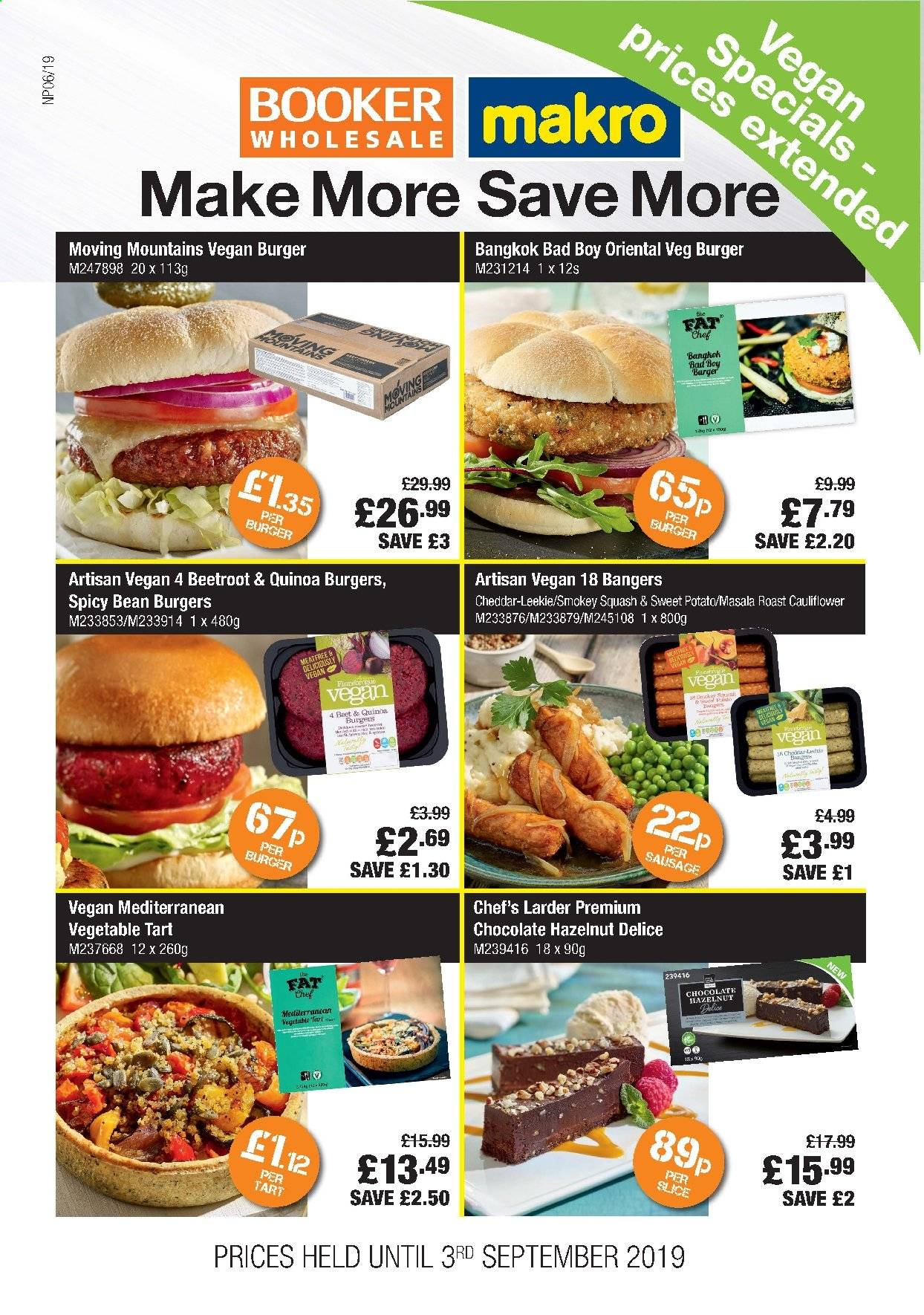 Makro offer  - 7.8.2019 - 3.9.2019. Page 1.