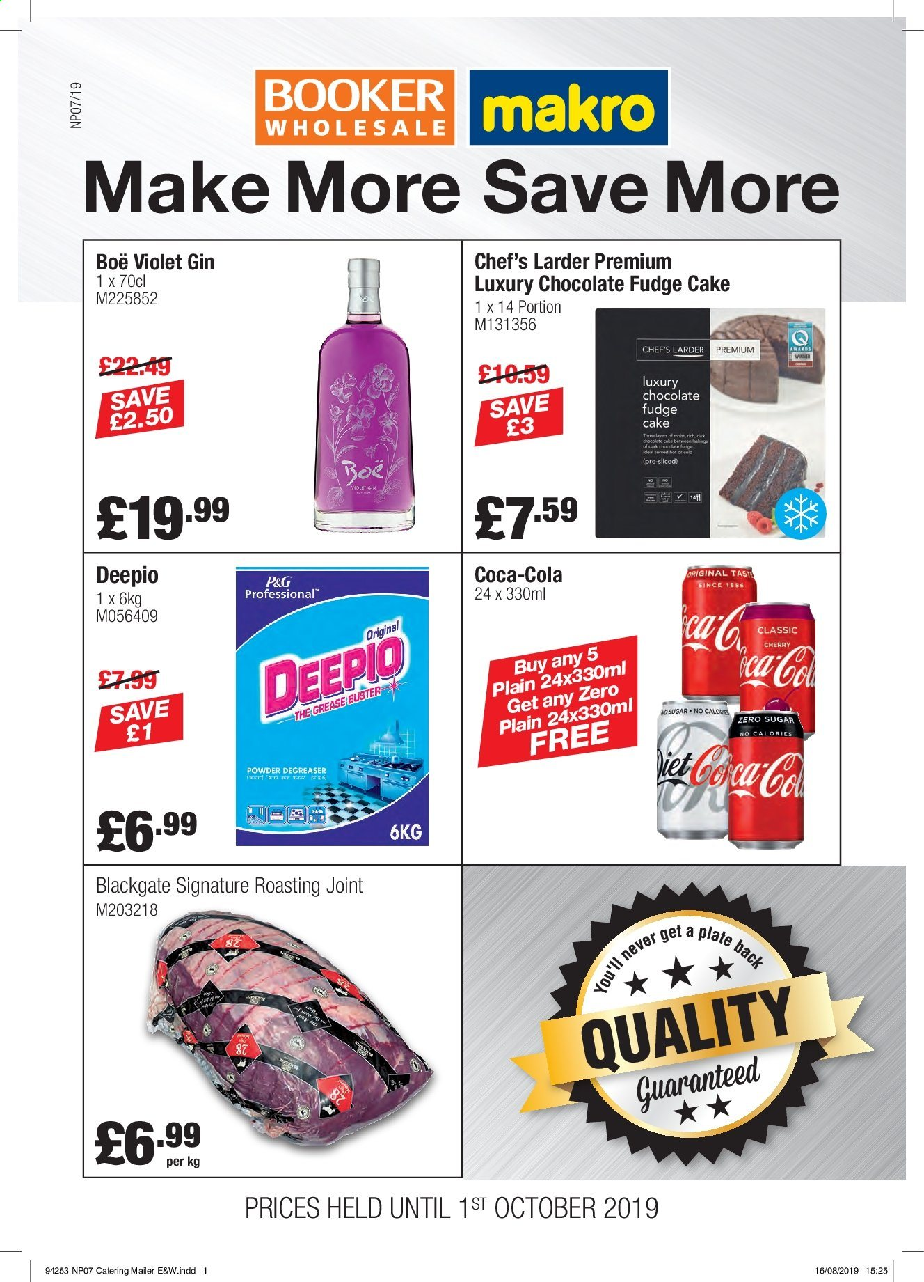 Makro offer  - 4.9.2019 - 1.10.2019. Page 1.