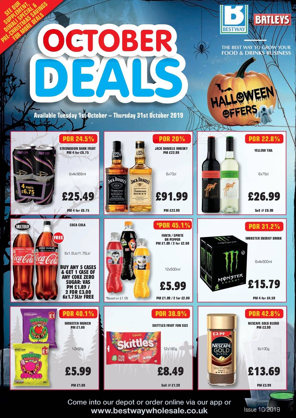 Bestway offer  - 1.10.2019 - 31.10.2019. Page 1.