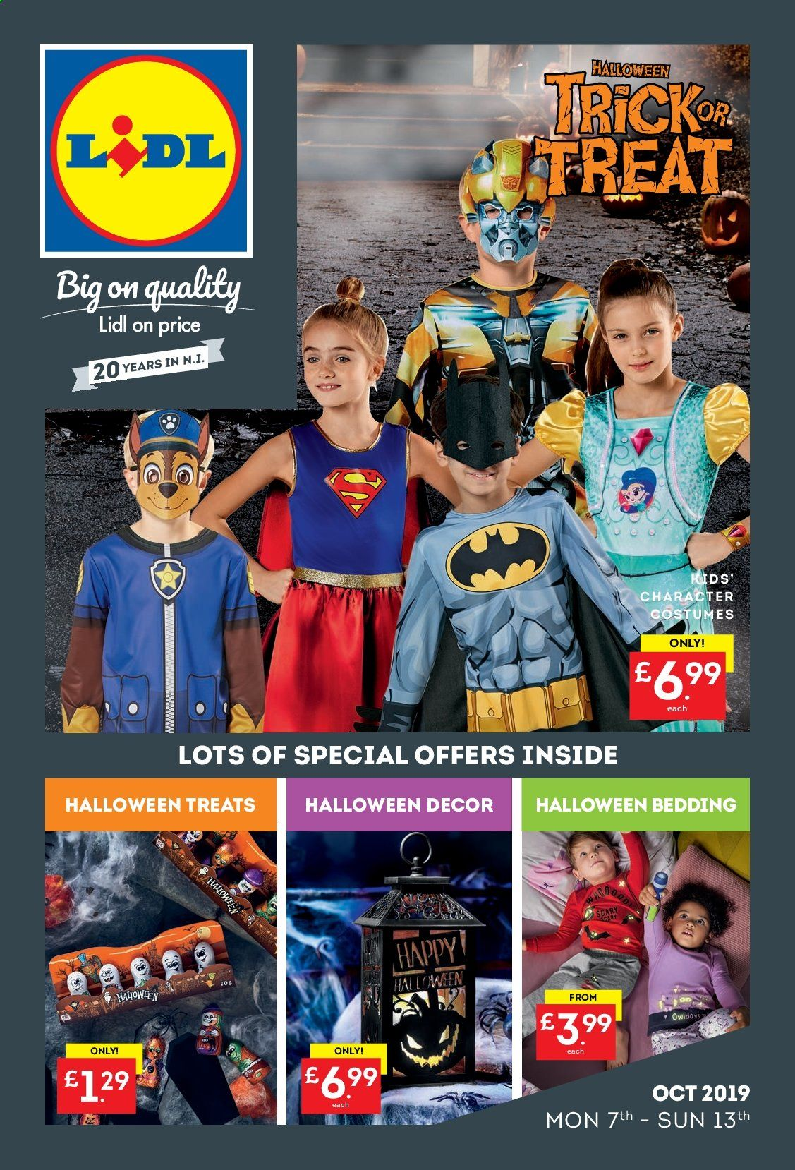 Lidl offer  - 7.10.2019 - 13.10.2019. Page 1.