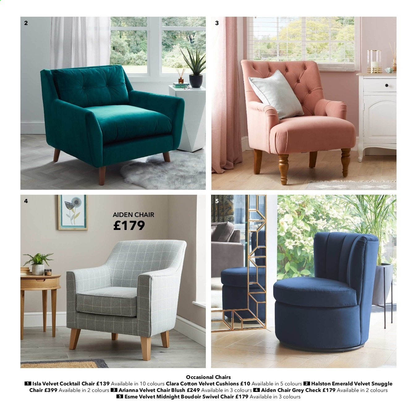 Dunelm offer . Page 45.