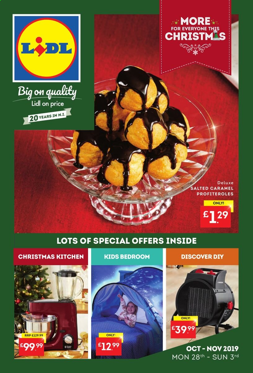Lidl offer  - 28.10.2019 - 3.11.2019. Page 1.