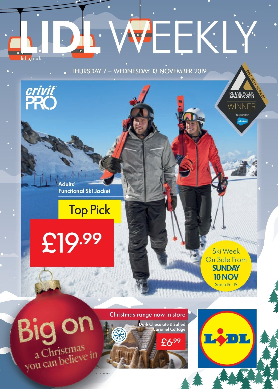 Lidl offer  - 7.11.2019 - 13.11.2019. Page 1.
