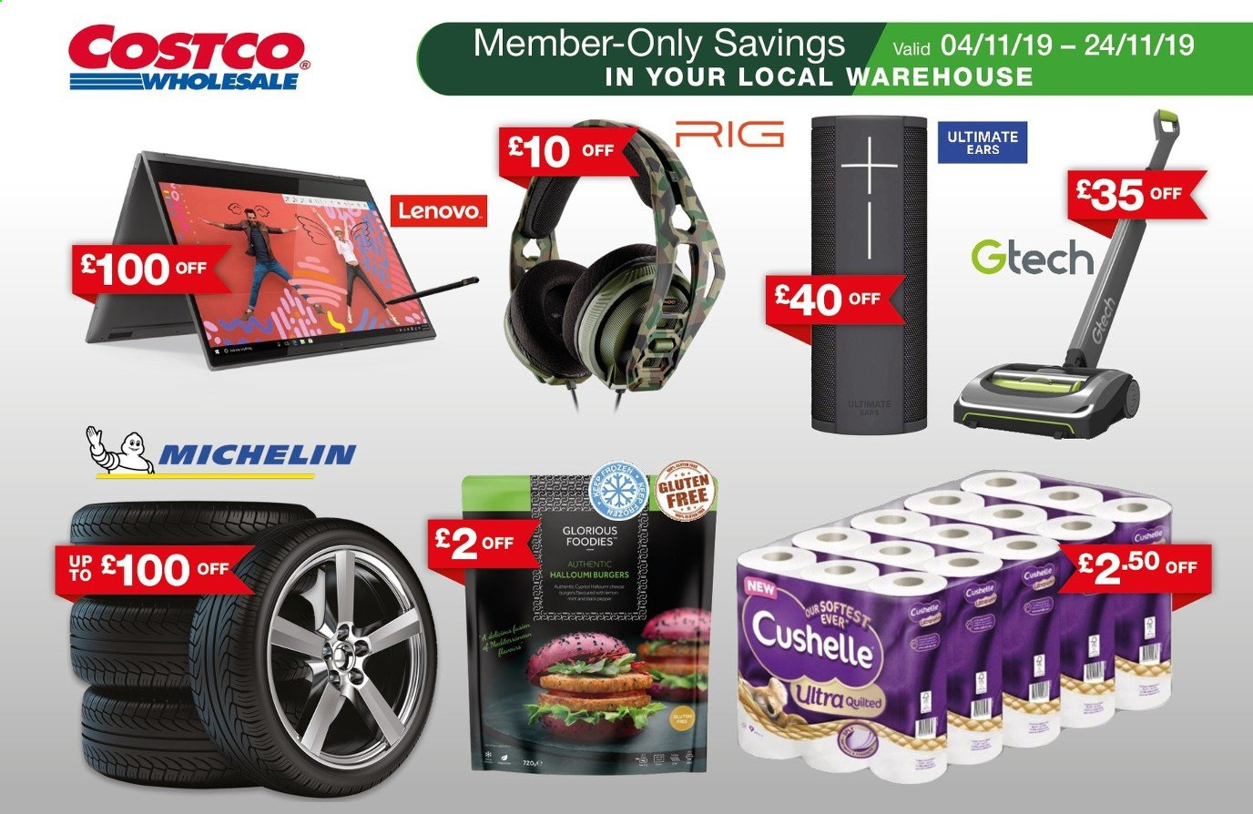 Costco offer  - 4.11.2019 - 24.11.2019. Page 1.