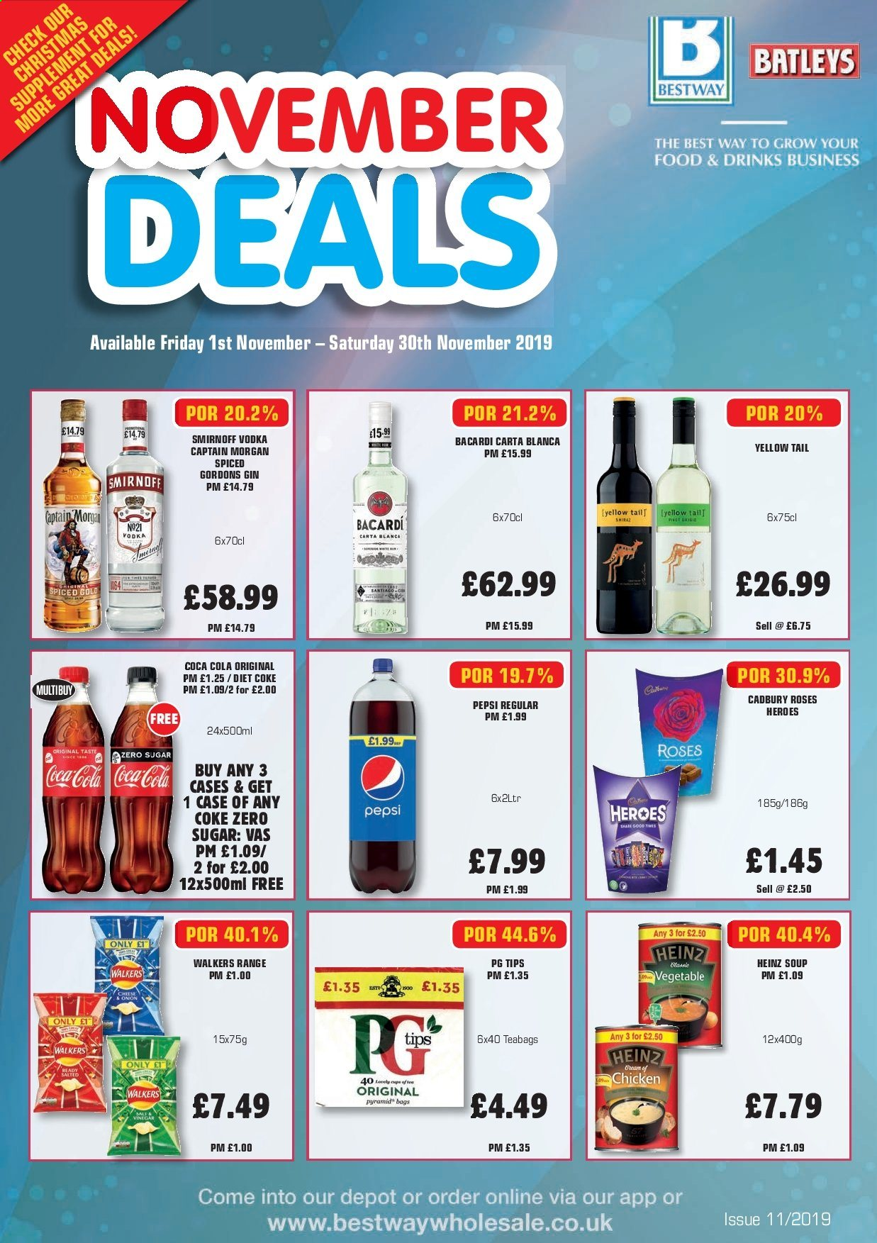 Bestway offer  - 1.11.2019 - 30.11.2019. Page 1.