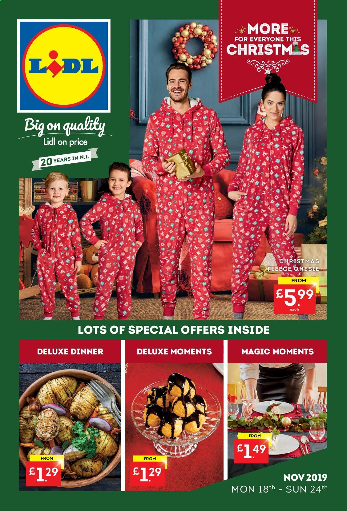Lidl offer  - 18.11.2019 - 24.11.2019. Page 1.