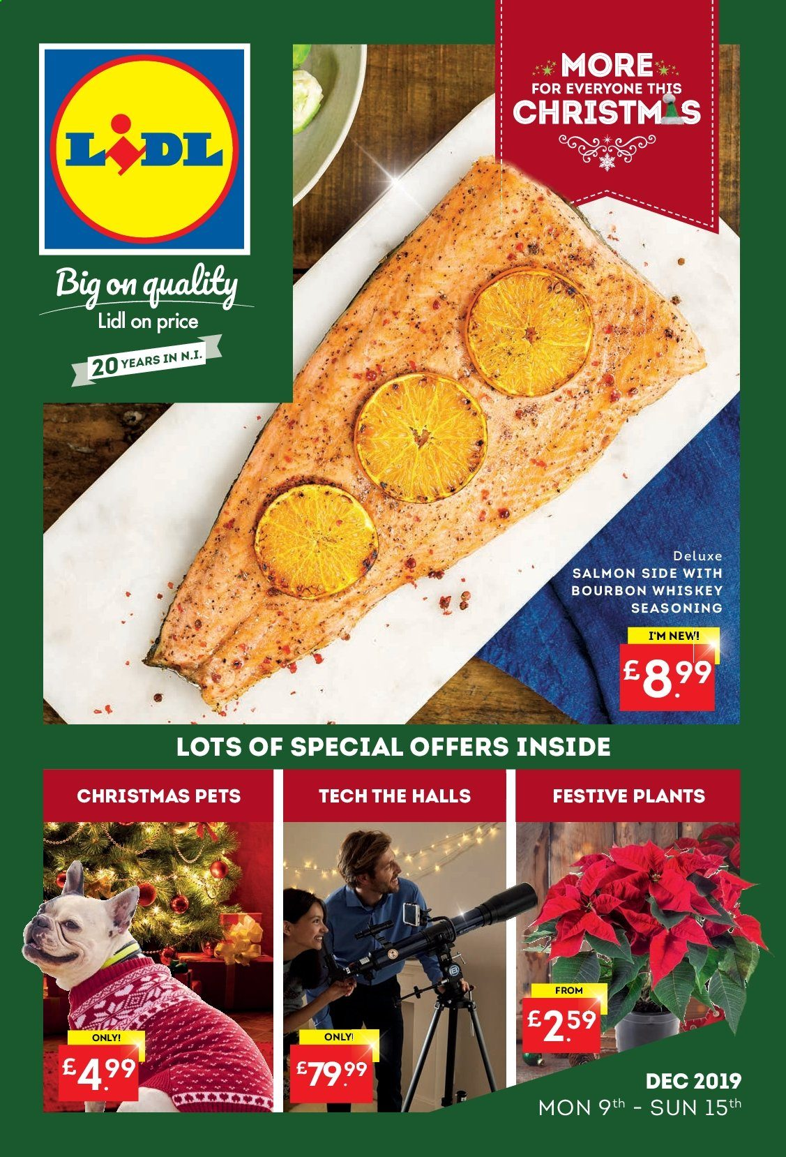 Lidl offer  - 9.12.2019 - 15.12.2019. Page 1.